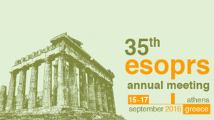 Imagen 35th ESOPRS annual meeting